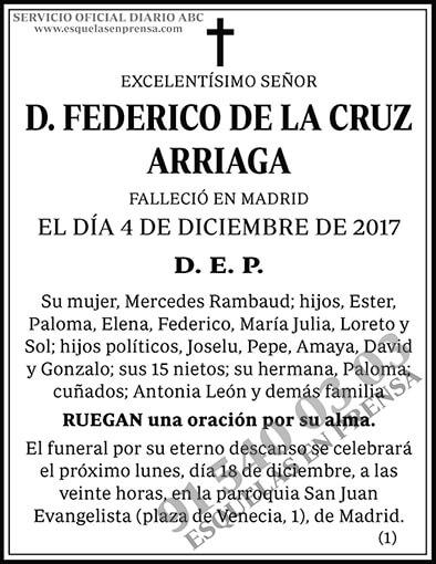 Federico de la Cruz Arriaga